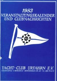 1983 Clubnachrichten
