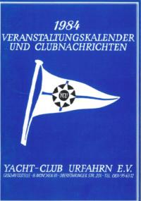 1984 Clubnachrichten
